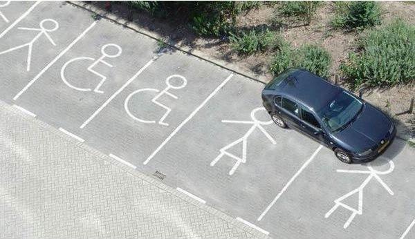 Парковка разных типов