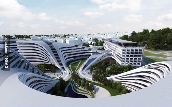 Иллюзорное здание