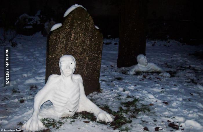 Снежные зомби