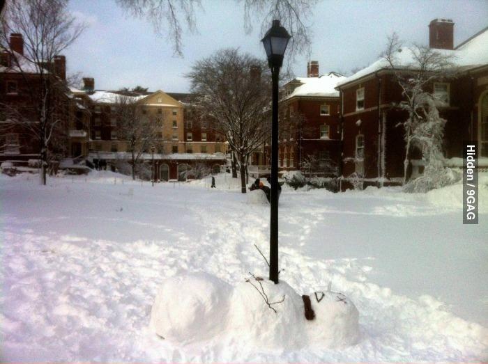 Мертвый снеговик