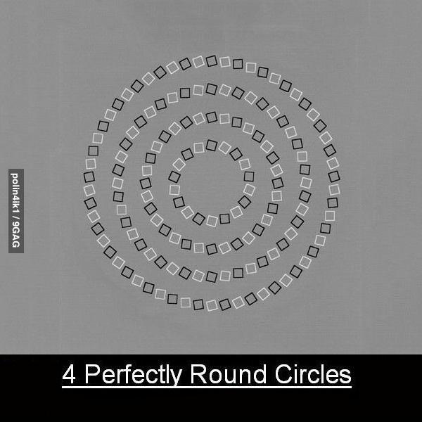 4 ровных круга