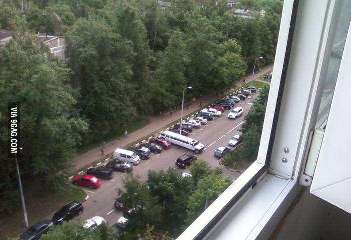Удачная парковка
