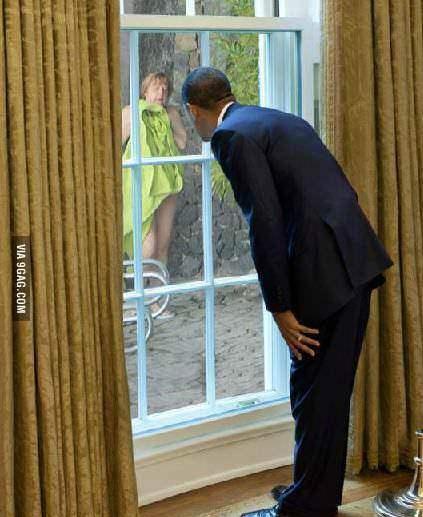 Обама шпионит за Меркель