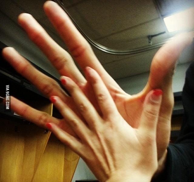 Руки баскетболиста