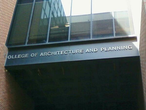 Колледж архитекуты и планирования