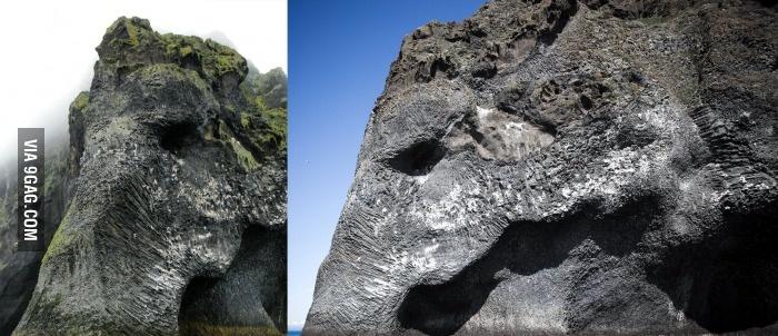 Слоновья гора в Исландии