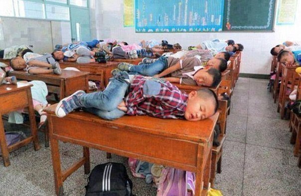 Тихий час в Китае