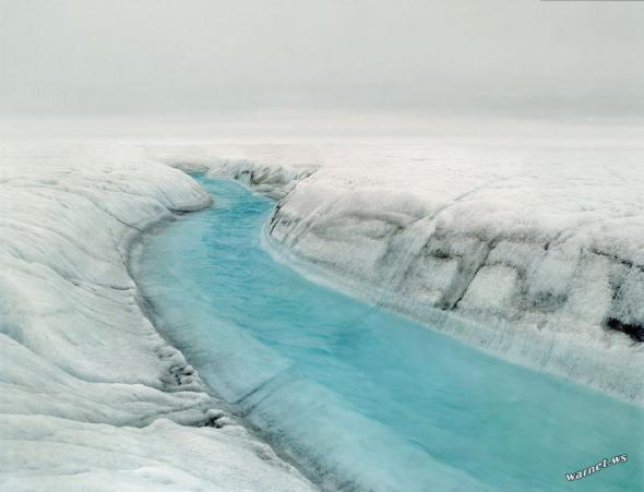 Река во льдах