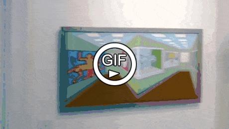 Картина в галерее