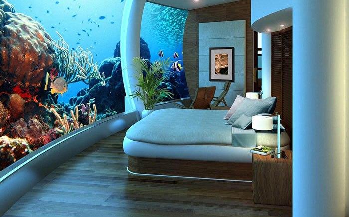 Подводный отель «Посейдон», Фиджи