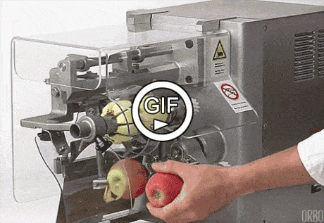 Очистка яблок
