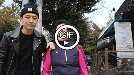 Как испугать бабушку в Корее?
