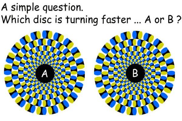 Что вращается быстрее?