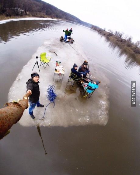 Селфи с льдины