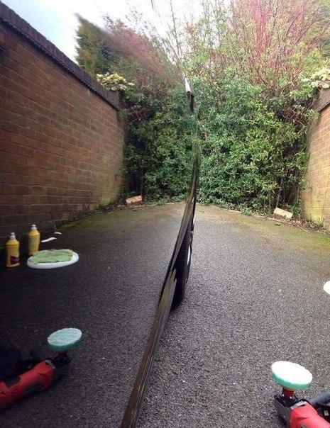 Авто после полировки