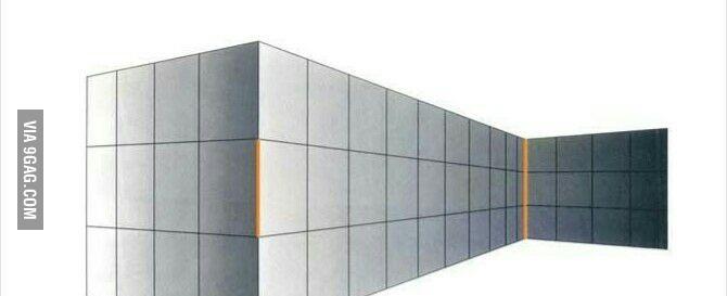 Коричневые линии одной длины