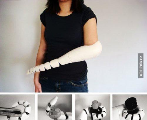 Дизайн протеза из Японии