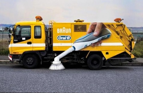 Реклама зубных щеток