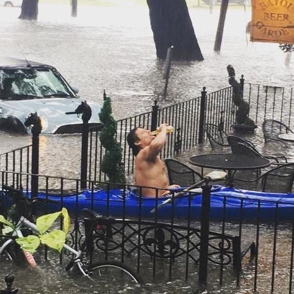 В бар после наводнения